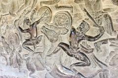 Барельефы Ангкор-Вата