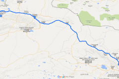 Маршрут до Ланьчжоу