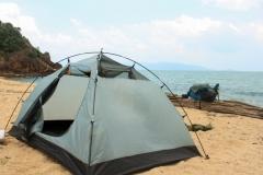 Палатка без тента