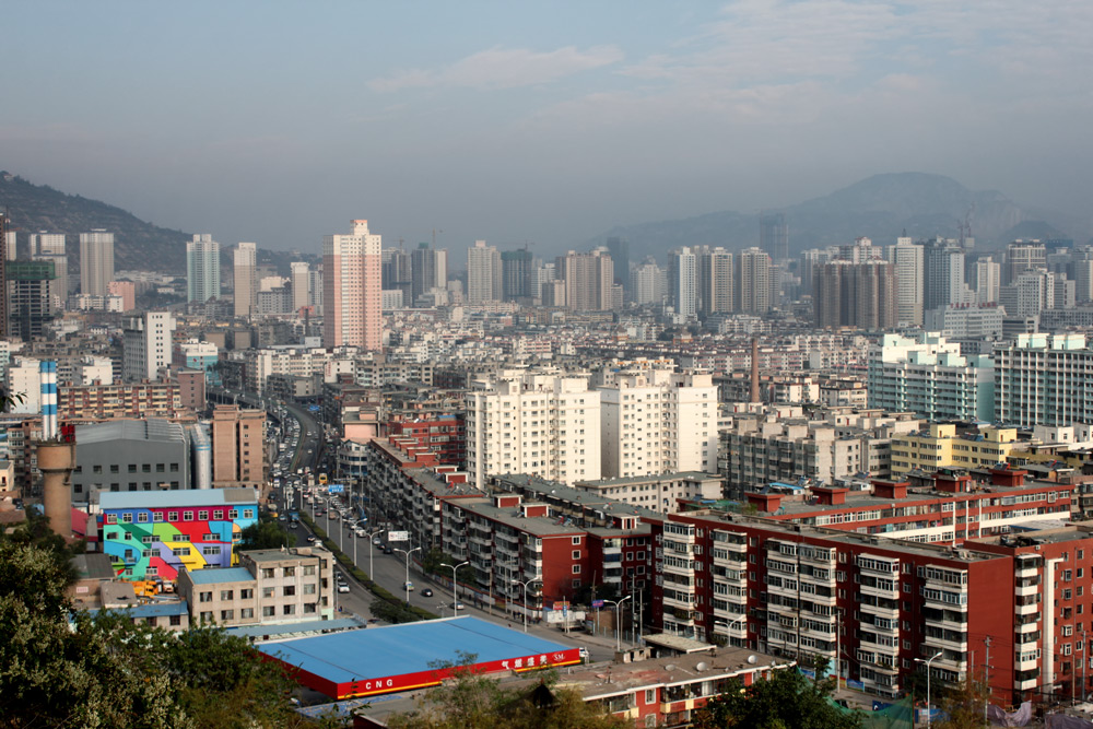 Панорама Ланьчжоу