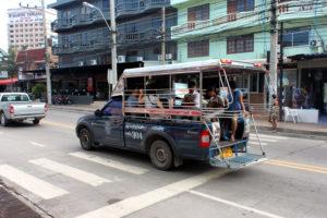 Сонгтео, местная маршрутка